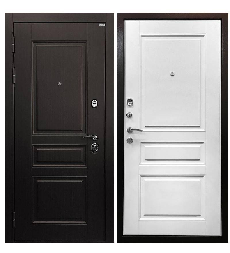 Металлическая дверь Ратибор Лондон 3К White