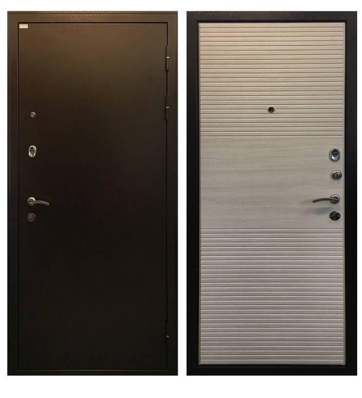 Металлическая дверь Ратибор Горизонт Акация
