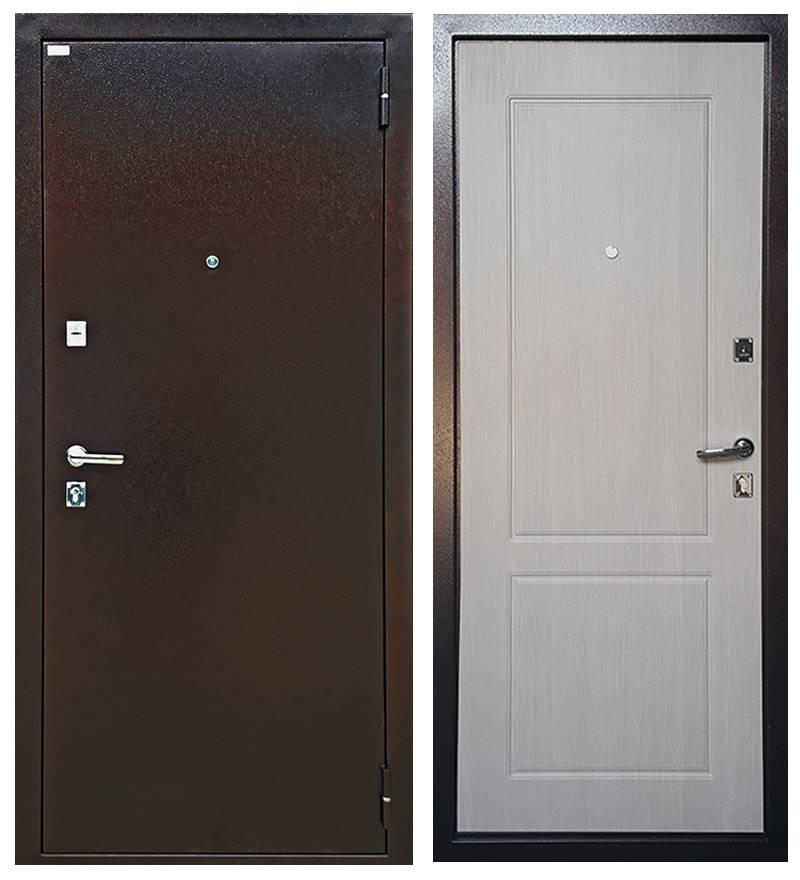 Металлическая дверь Ратибор Форт Люкс Капучино
