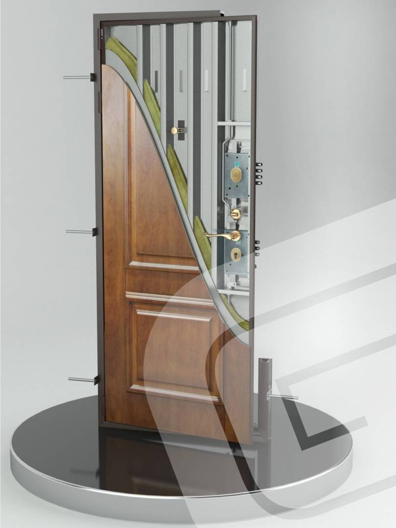 Металлическая дверь Гардиан ДС-7