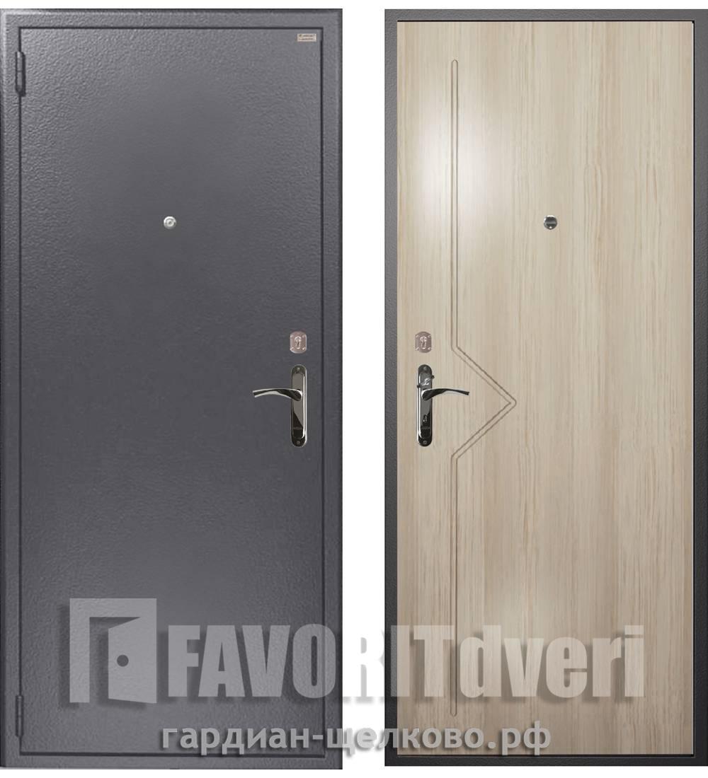 Металлическая дверь Гардиан ДС-1 Стандарт 03 (замки Гардиан 30.12 + Гардиан 32.01)