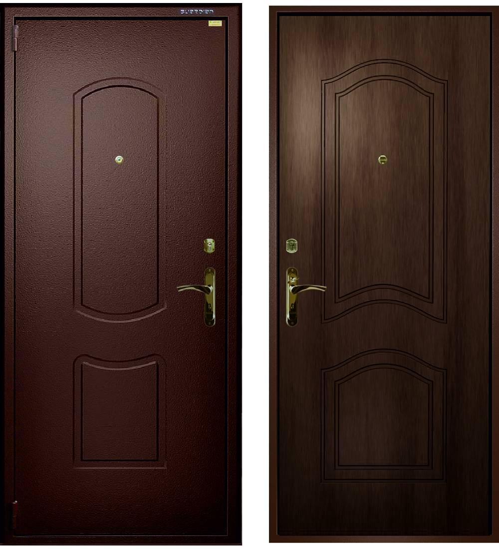Металлическая дверь Гардиан ДС-1 Эталон 02 (замки Гардиан 30.12 + Гардиан 32.01)